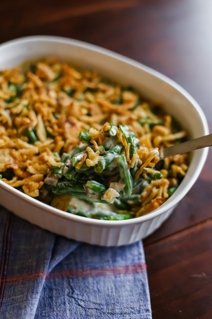 How to Make Green Bean Casserole with Fresh Green Beans (and NO canned soup!)