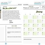 Lake Shore Lady's 2019 Workout and Wellness Planner