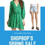 Transitional Pieces and Cute Dresses from Shopbop's Spring Sale