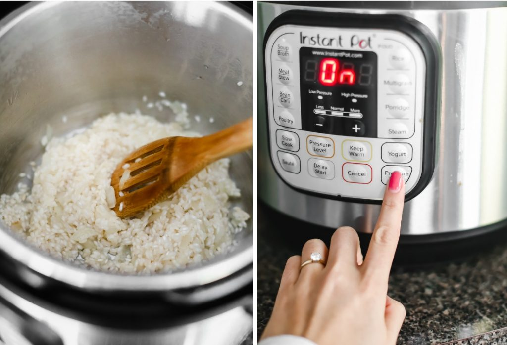 instant pot risotto - lake shore lady