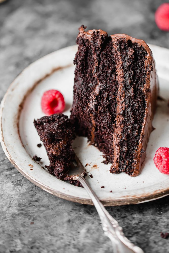 Paleo Chocolate Cake by Ambitious Kitchen