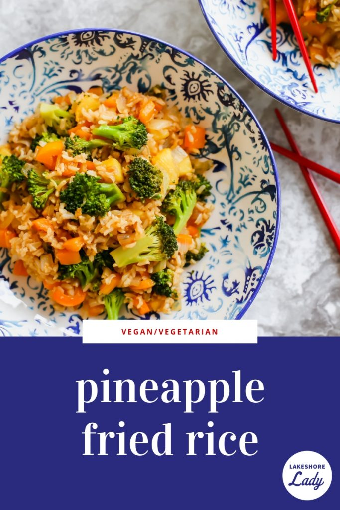 How to make Pineapple Fried Rice. The full recipe including ingredients and directions.