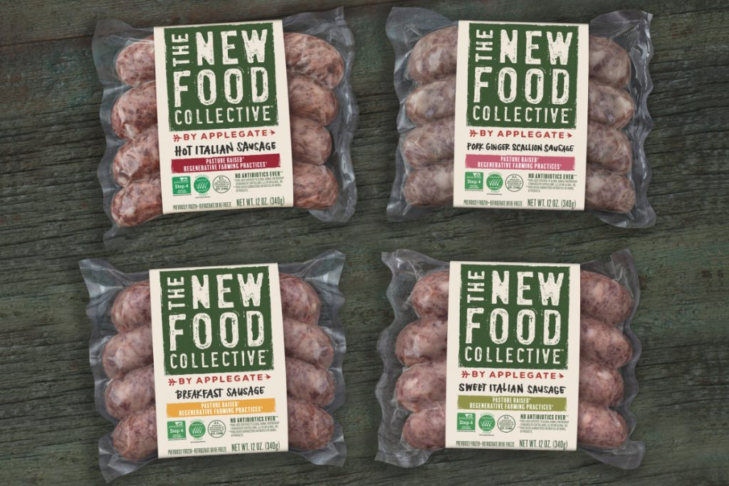 The New Food Collected Sausages