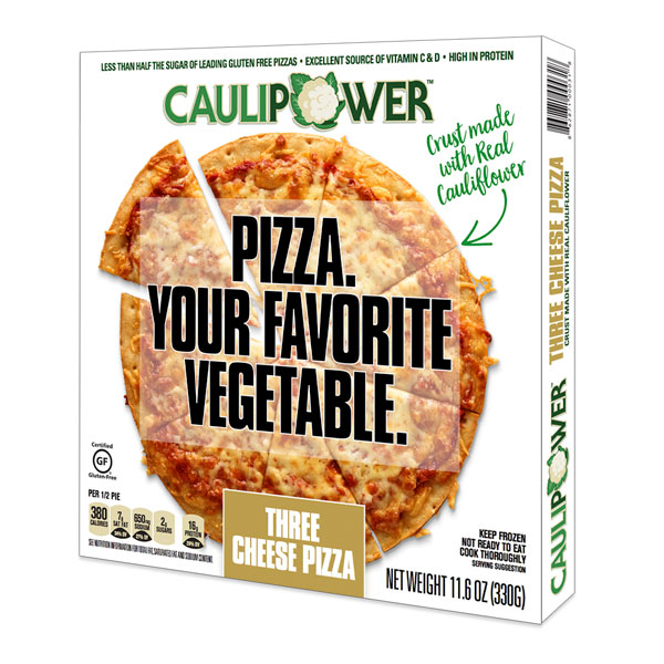 Caulipower Cauliflower pizza