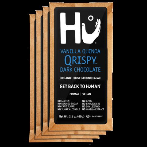 Hu Vanilla Quinoa Qripsy Dark Chocolate