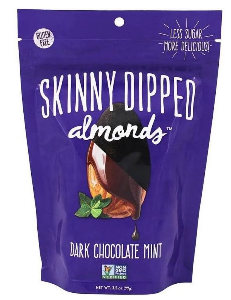 Skinny Dipped Almonds: Dark Chocolate Mint