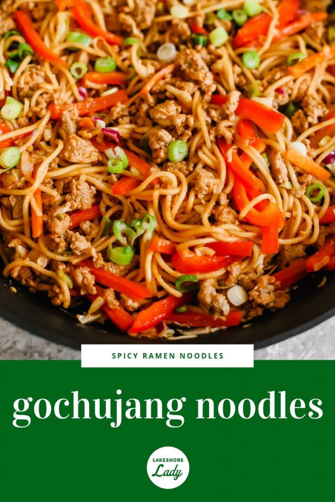 gochujang noodles recipe
