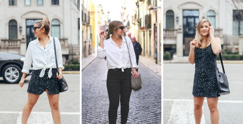 5 Items, 3 Spring Outfit Ideas