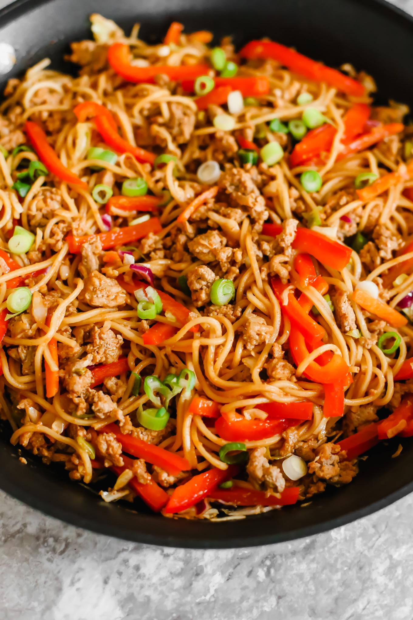 The Best Spicy Ramen Noodles