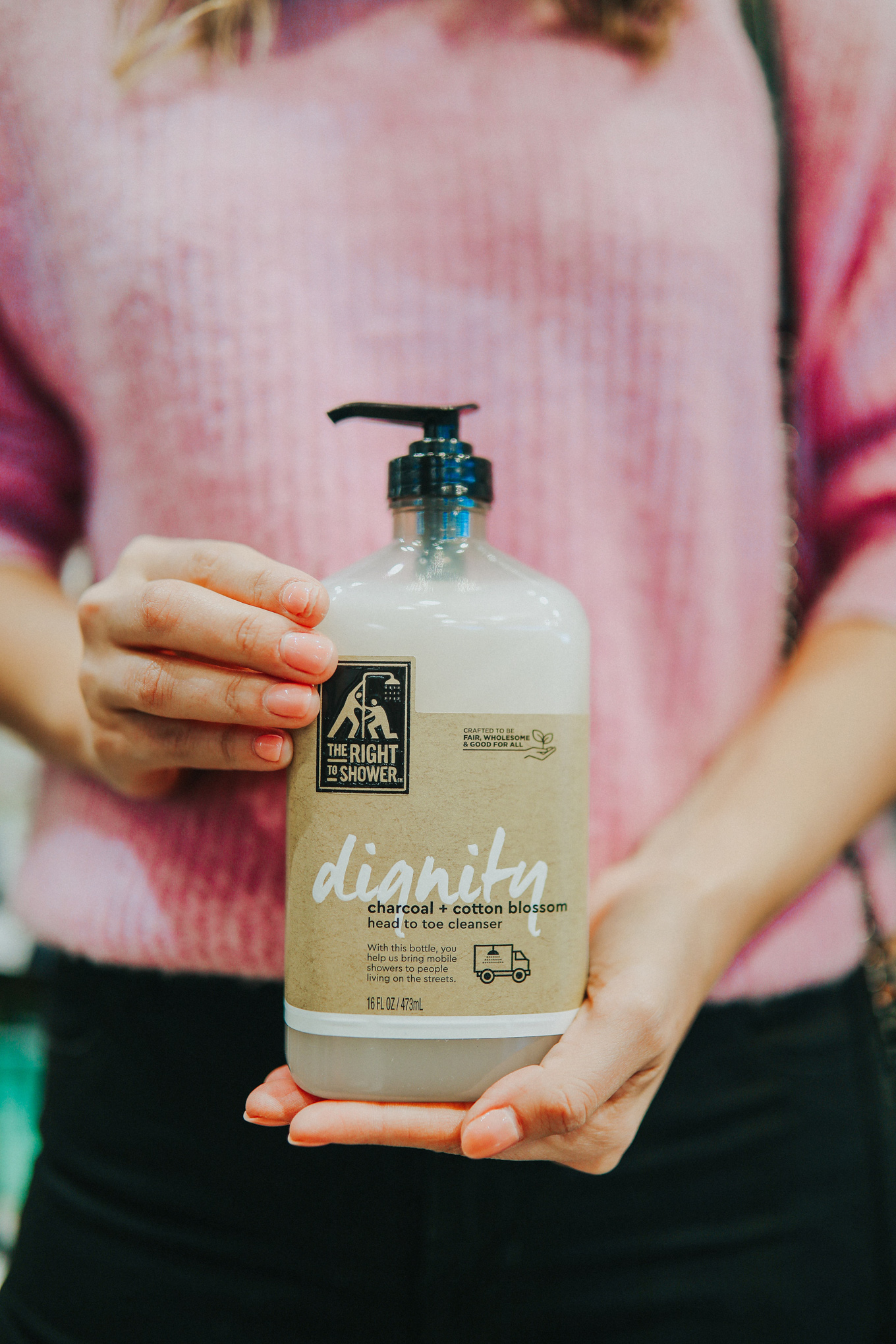 Buy this body wash & help provide free showers for the homeless