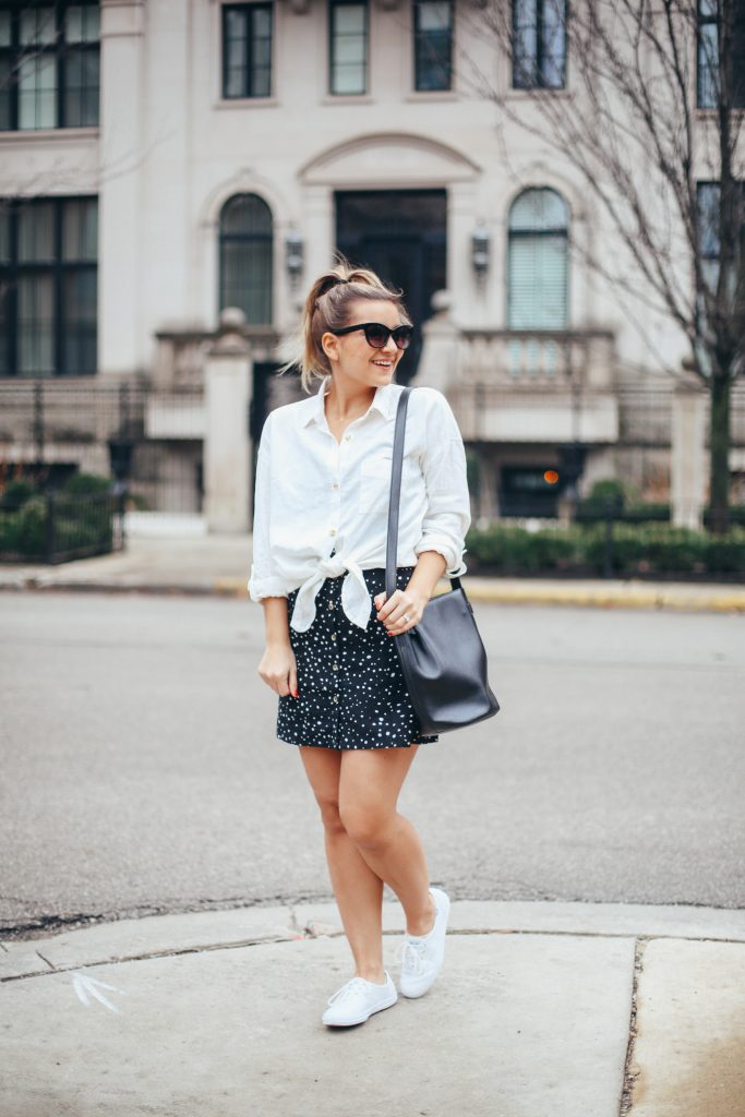 5 Items, 3 Spring Outfit Ideas - Lake Shore Lady Blog