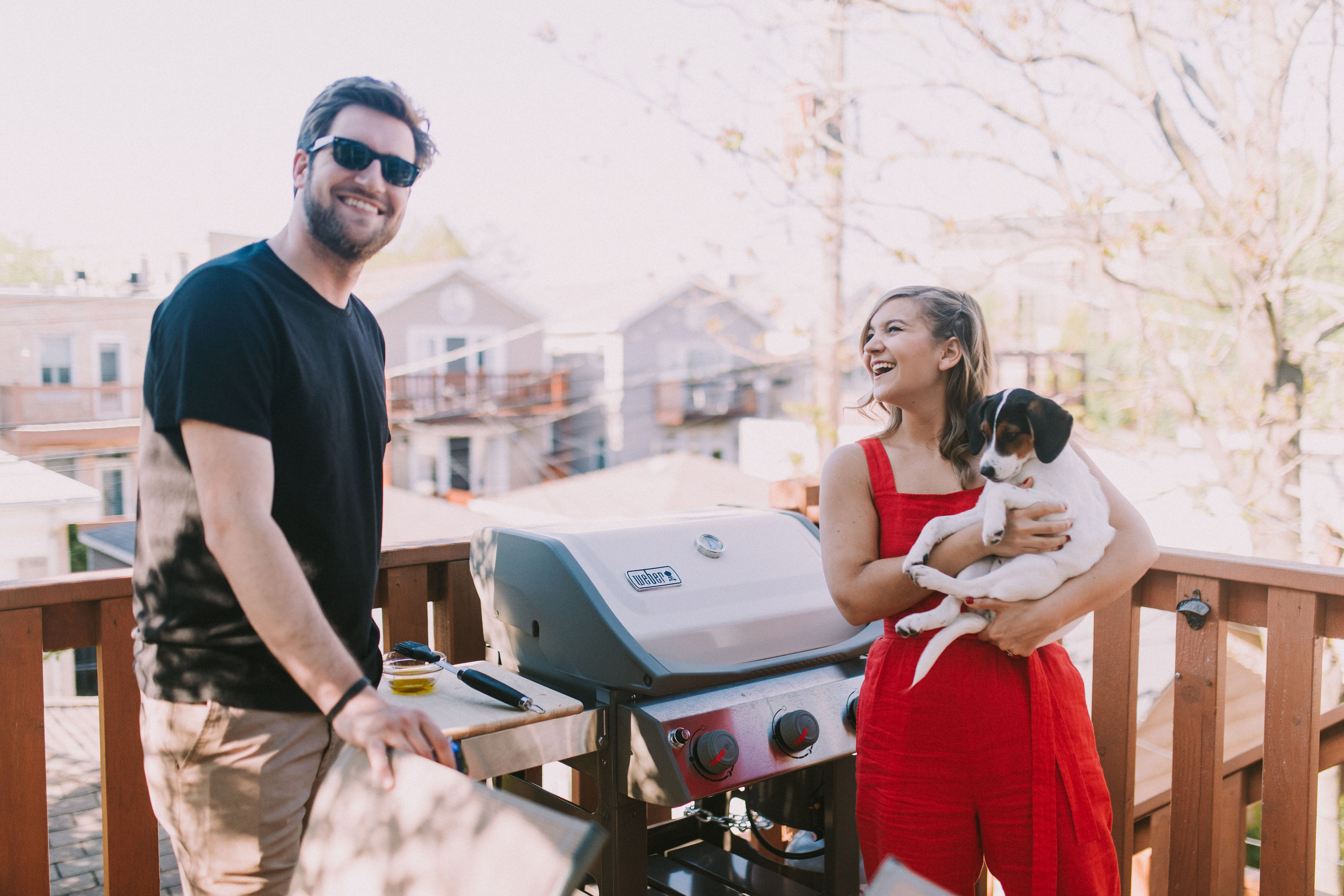 My Birthday BBQ with our Weber Grill - Lake Shore Lady