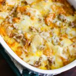 Sausage Egg and Hashbrown Casserole