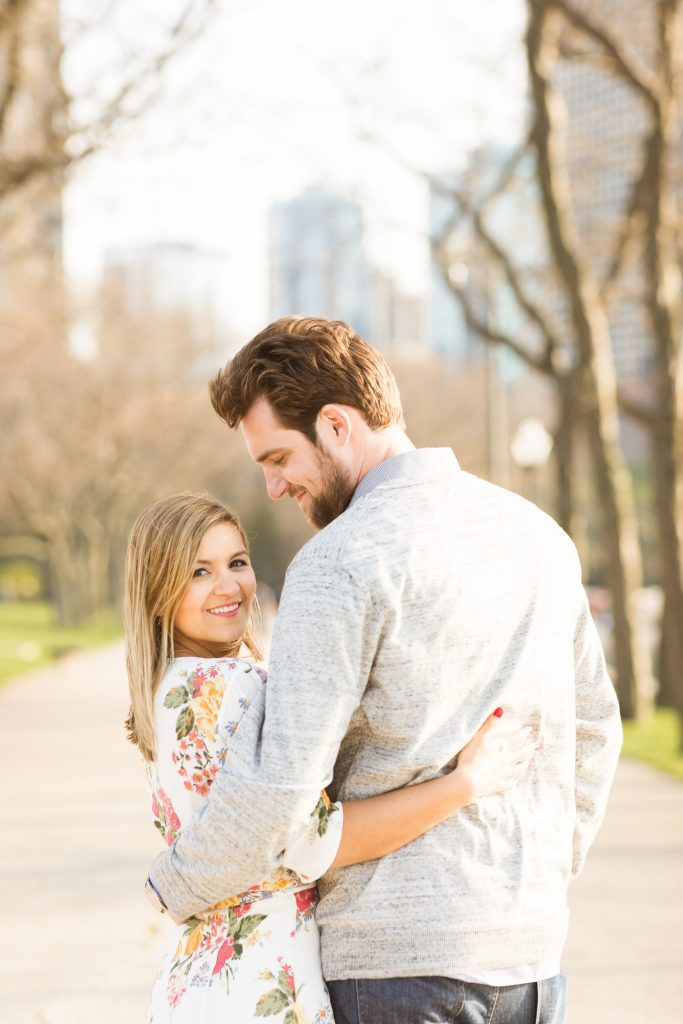 What To Wear For Your Engagement Photos - Dressed Up