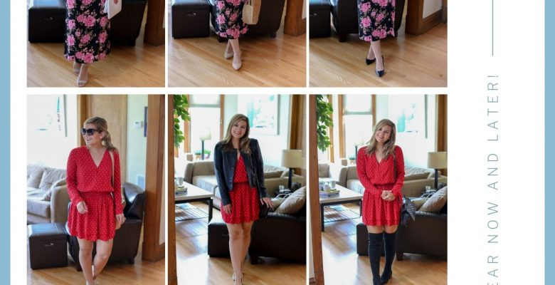 3 Pieces From The Nordstrom Anniversary Sale Styled 3 Ways (for different seasons!)