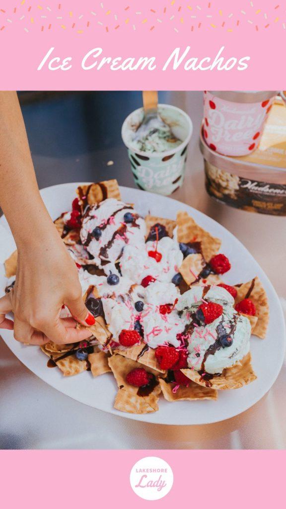 ice cream nachos recipe
