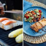 How To Cook Salmon on aSaltBlock
