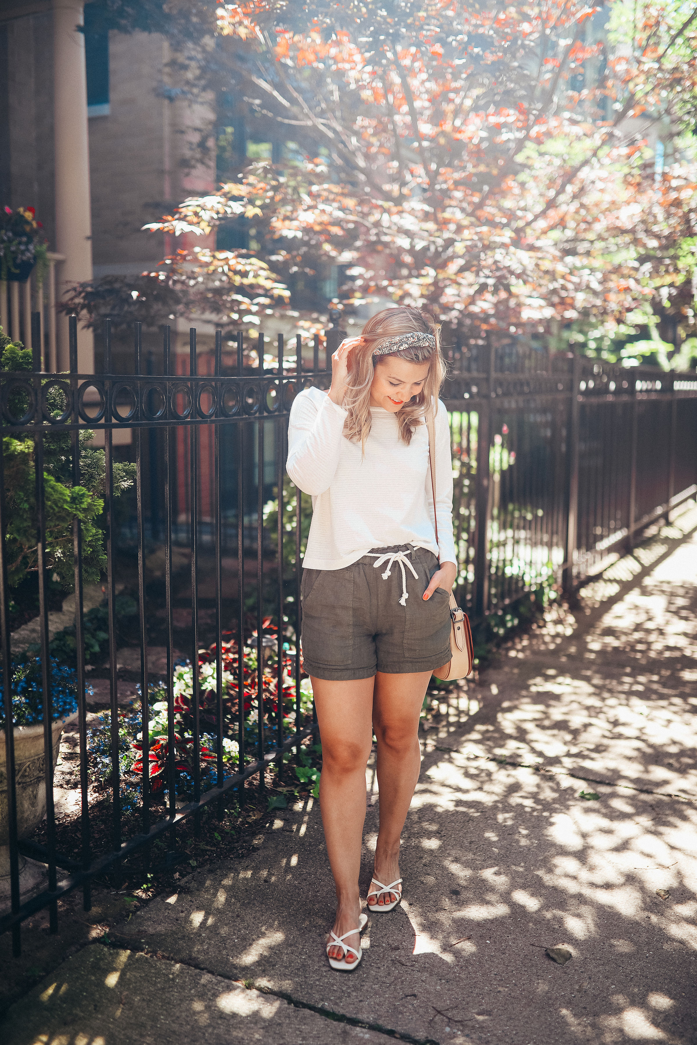 The most comfortable linen shorts EVER.