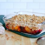 Healthy Stone Fruit Crumble