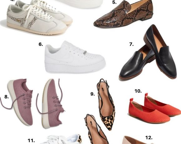 The Best Flats and Cute Sneakers For Fall