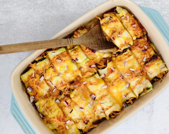 ZucchiniChicken Enchiladas