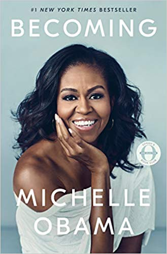 the new york times bestseller Becoming by Michelle Obama is one of the best fall books