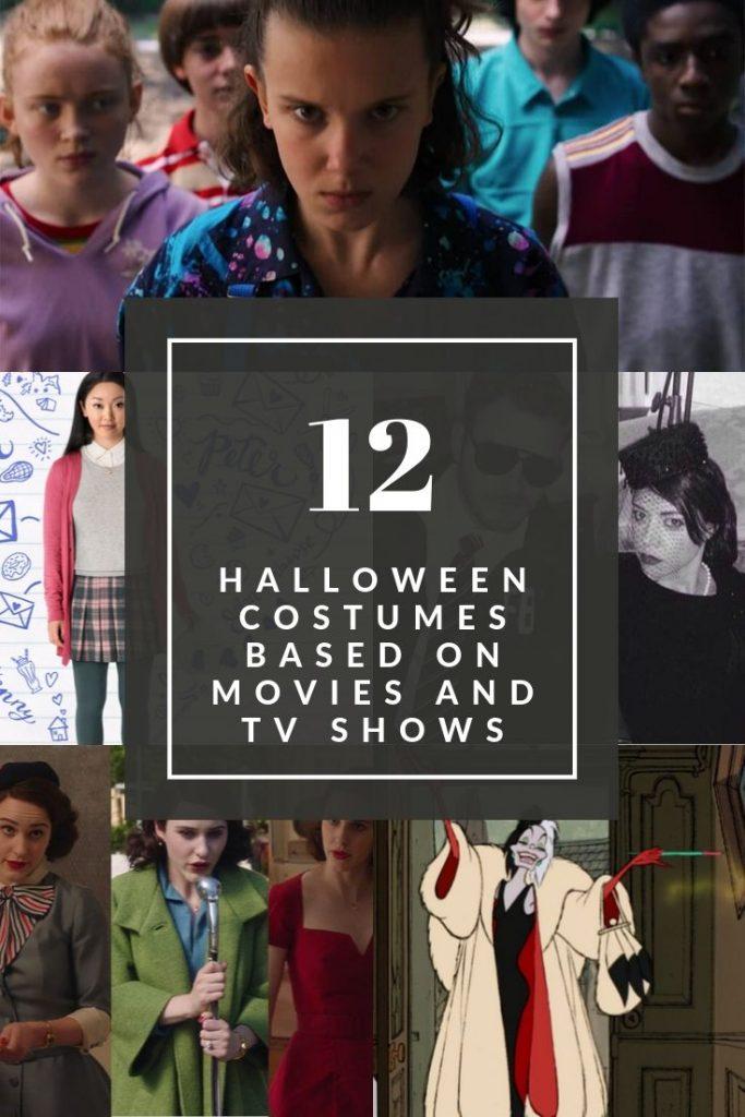 12 halloween costumes based on movies