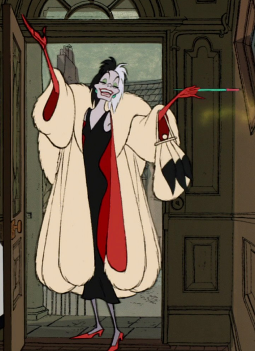 cruella for halloween costumes based on movies