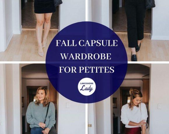 Fall Capsule Wardrobe For Petites