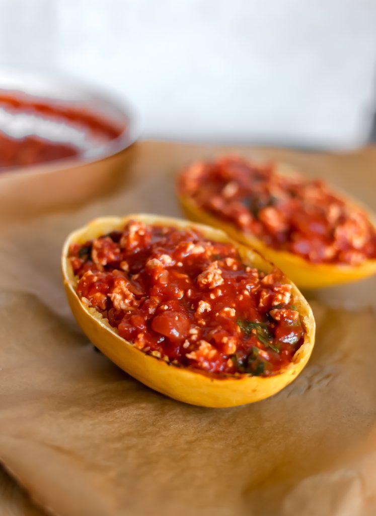 Ground Turkey Tomato Sauce