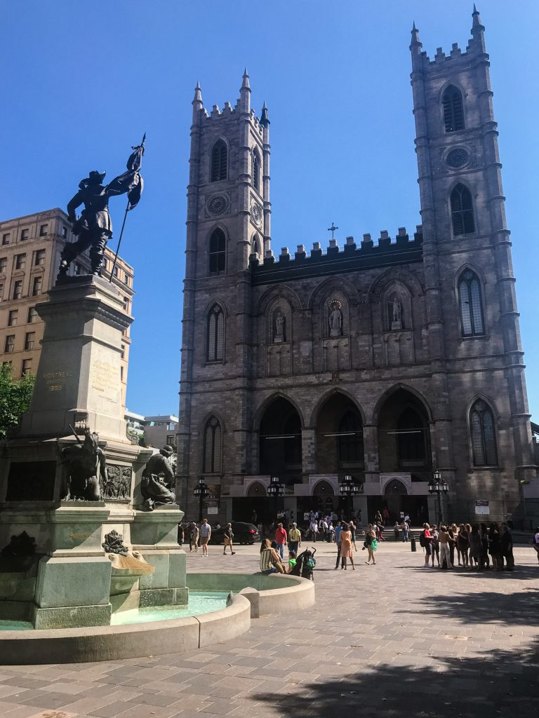 notre dame basilica  - Montreal Weekend Guide