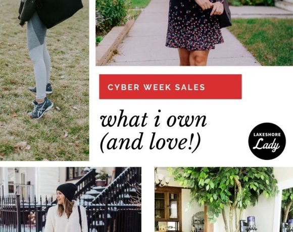 What I Own (and love!) From Cyber Week Sales