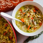 Best Leftover Turkey Noodle Soup