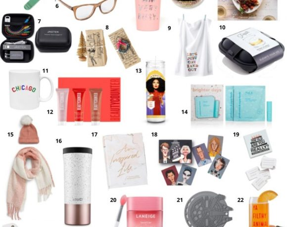 Easy Christmas Gifts for Coworkers, Secret Santa, and Hosts – Under $50!