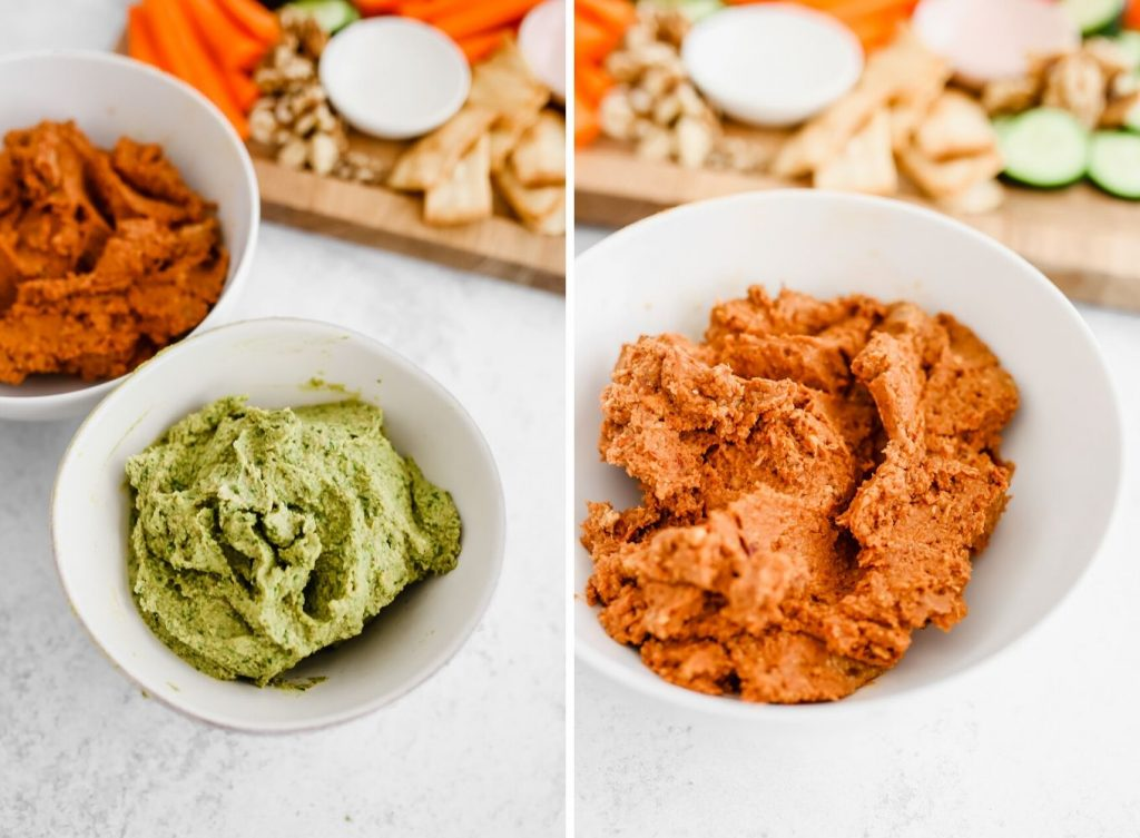 Hummus Made With Walnuts - 2 Ways!