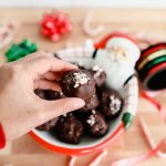 Mint Chocolate Coconut Truffles