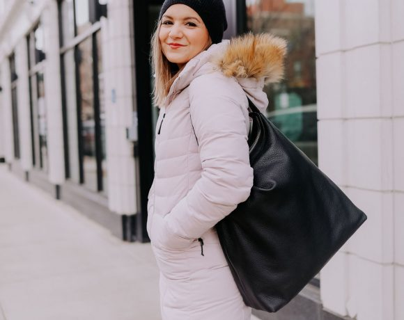 The Best Coat for Chicago Winters (That also works for petites!)