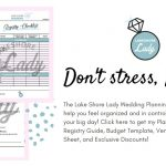 LSLWeddingBundle: PrintableWedding Planning Timeline, WeddingRegistry Checklist, Budget Template, Exclusive Discounts & more!