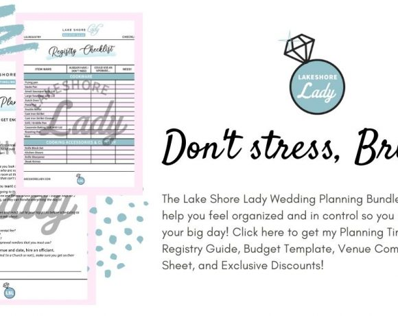 LSL Wedding Bundle: Printable Wedding Planning Timeline, Wedding Registry Checklist, Budget Template, Exclusive Discounts & more!