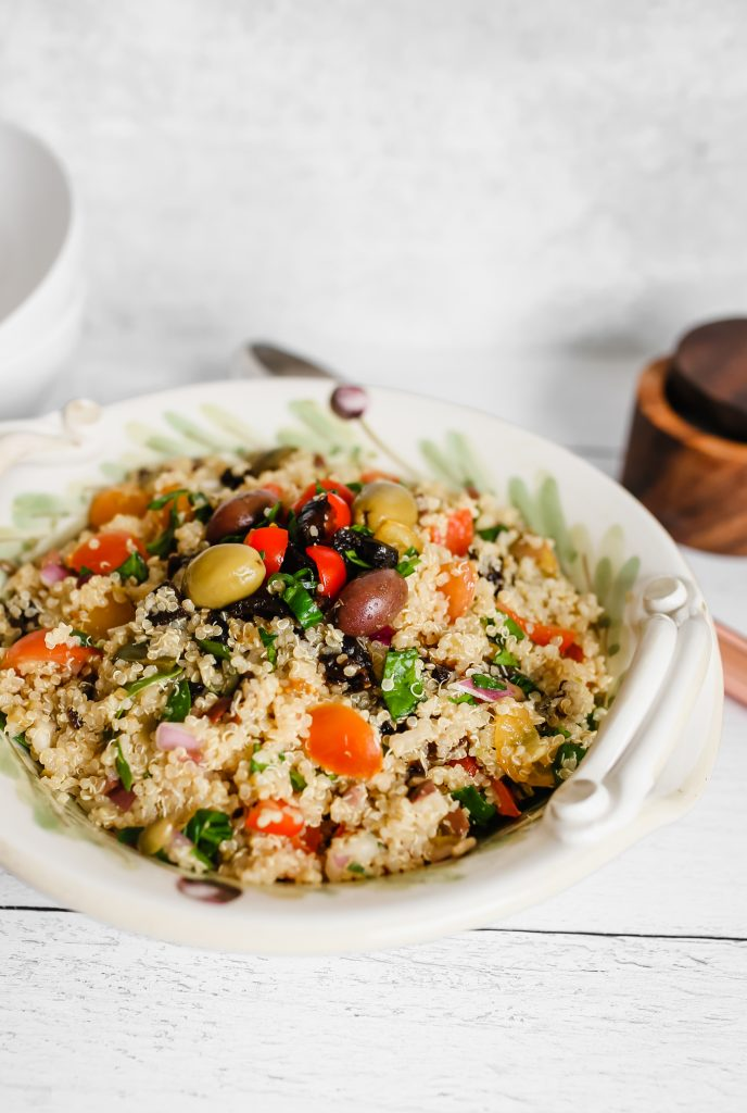 Vegan Quinoa Salad with California prunes