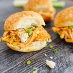 Instant Pot Buffalo Chicken Sliders