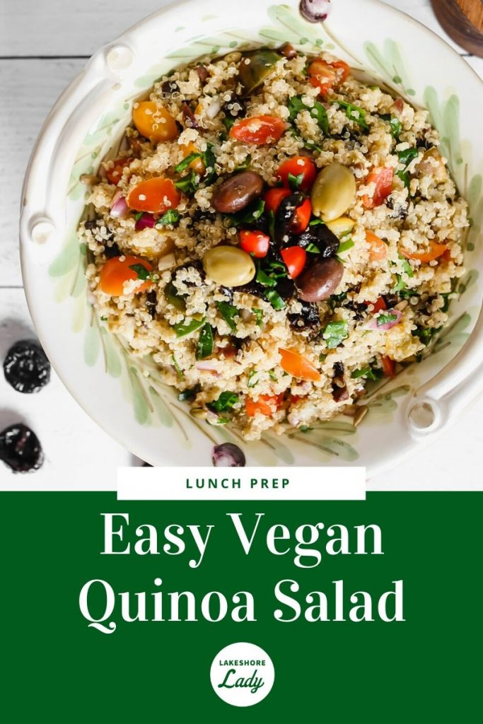Quinoa Salad with California prunes