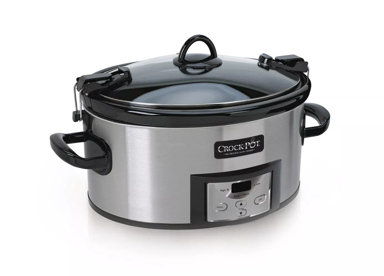 Crock-Pot® 6 Qt. Programmable Cook & Carry™ Slow Cooker
