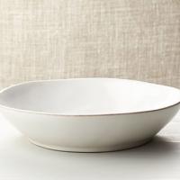 Marin White Low Bowl