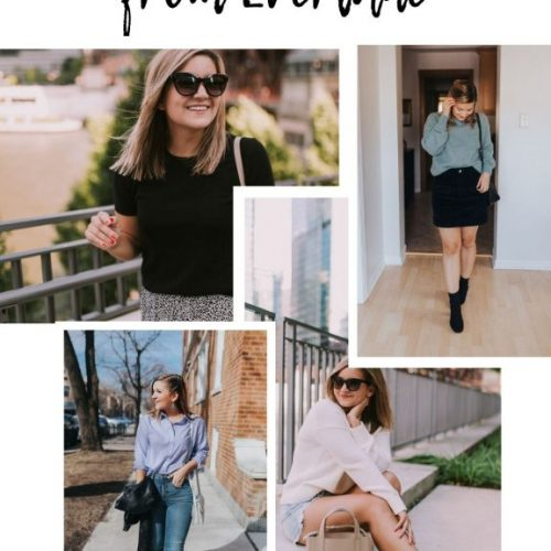 best petite friendly items from everlane