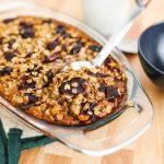 Cherry Baked Oatmeal Recipe