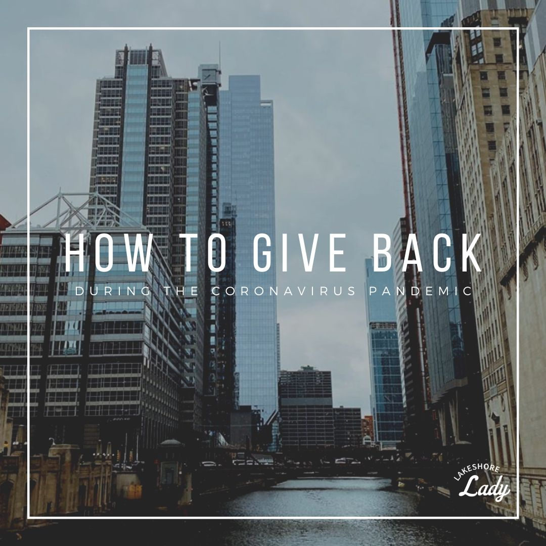 how to give back during coronavirus