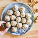 Tropical Walnut Energy Balls