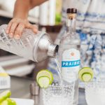 Prairie Organic Cucumber Flavored Vodka Gimlet Recipe For Game Night