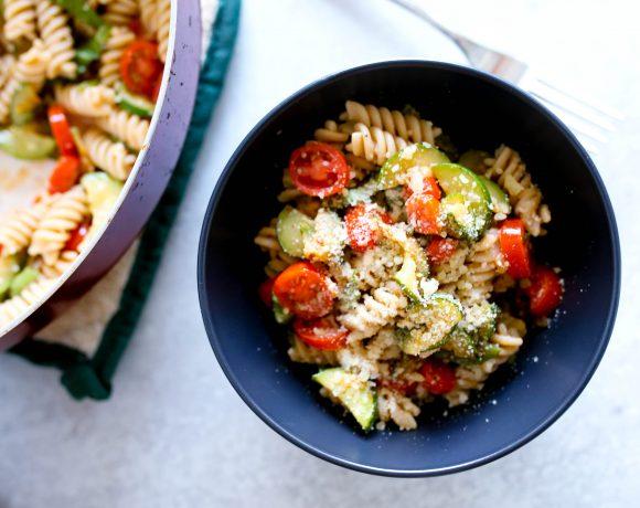 Zucchini Tomato Pasta